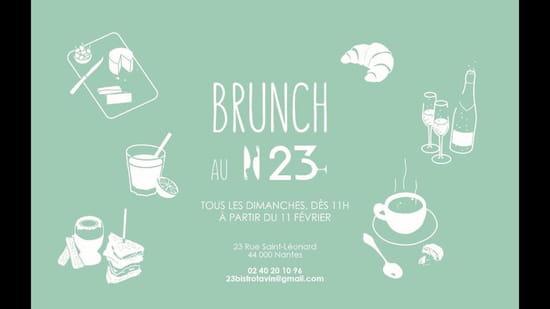 Petit-déjeuner : Numéro 23 Bistrot à vin   © ORHON Pierre