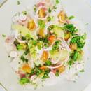 Entrée : Baba Kitchen  - Ceviche de poisson -   © c