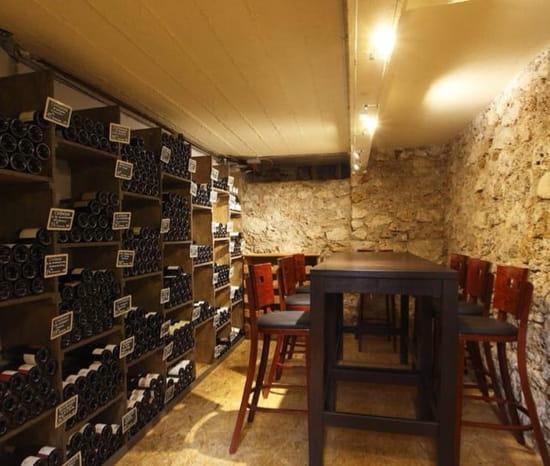 Restaurant : Bistro32  - Manger en cave -