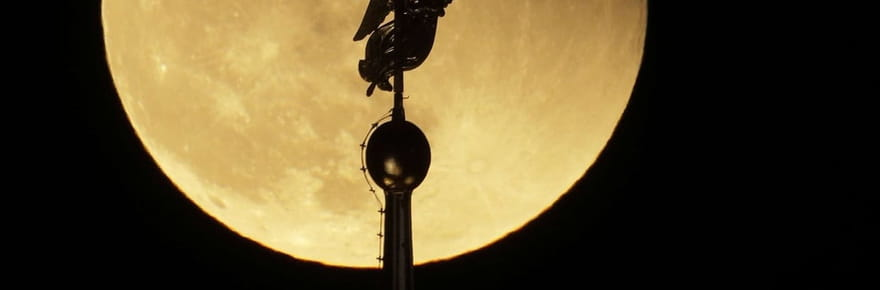 Les photos les plus spectaculaires de la super lune bleue
