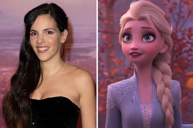 Charlotte Hervieux incarne Elsa dans La Reine des Neiges 2