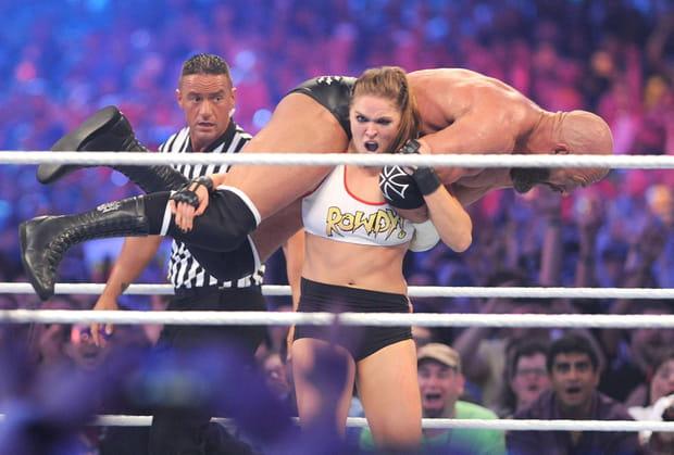 Ronda Rousey et Paul Levesque