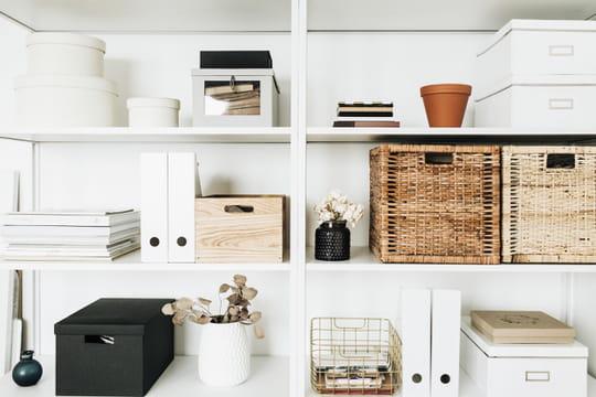 Des solutions pour tout ranger dans la maison