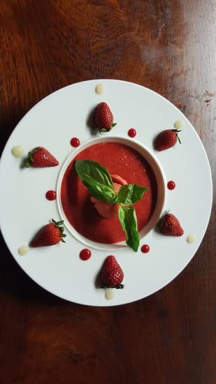 Au P'tit Parigot  - Soupe de fraises -