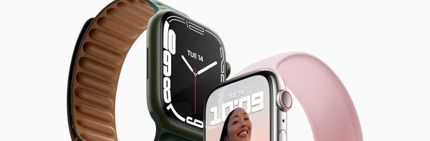 Apple Watch: découvrez les nouveautés de l'Apple Watch Series 7