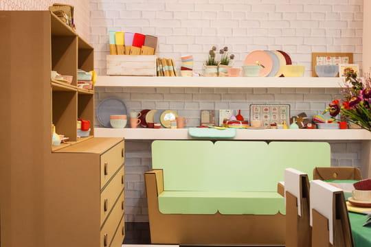 Fabriquer un meuble en carton: mode d'emploi