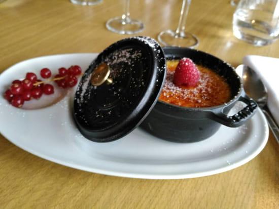 Dessert : Fous De Bassin  - Crème brûlée -