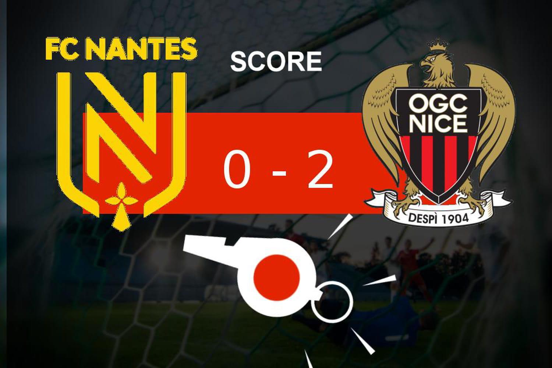 Nantes - Nice: l'OGC Nice fait le job (0- 2), le résumé de la rencontre
