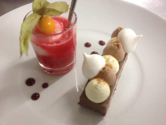 Dessert : Bambou et Basilic