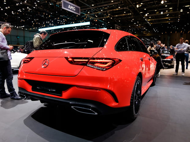 Les photos de la Mercedes CLA berline et Shooting Brake