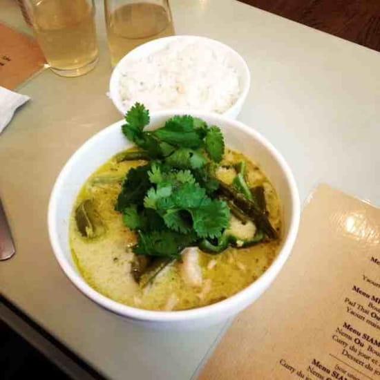Kapunka  - curry vert de poulet -   © kapunka