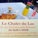 Petit-déjeuner : Le Chalet du Lac  - Un petit dej de champion -