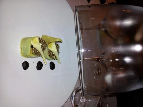 Maison Lameloise  - foie gras vapeur truffes fraiches -   © mv3dfr@free.fr
