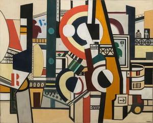 Fernand Léger - Les Disques dans la ville