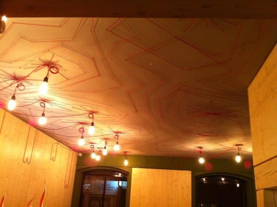Le Flamboire  - le plafond -