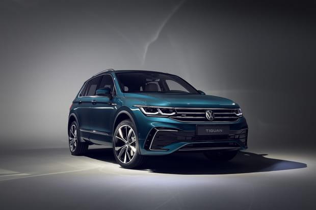 Le nouveau Volkswagen Tiguan restylé en images