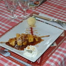 Le Texas Grill (Hôtel Le Grand Val**)  - Brochette d'Ananas rôtie -   © Directeur