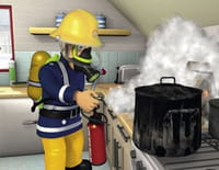 Sam le pompier : La cabane
