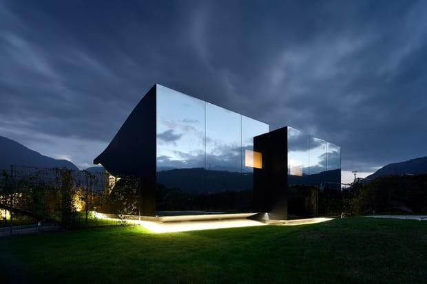 La Maison Du Miroir une maison miroir en italie