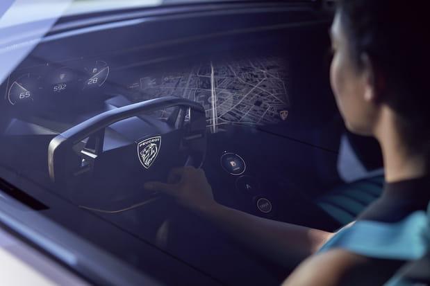 Deux modes de conduite autonome