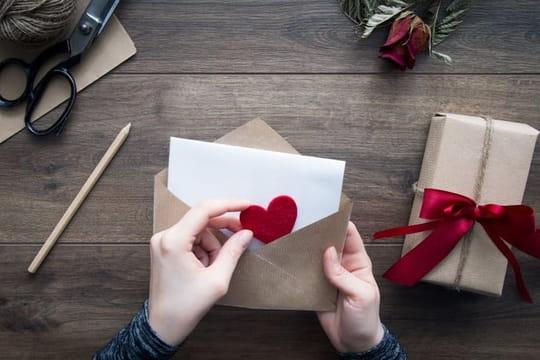 Lettre d'amour: modèles de courrier romantique pour elle, pour lui