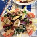 Le Gourmand  - Salade de chèvre chaud -