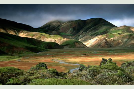 Zoom sur la photo de paysage