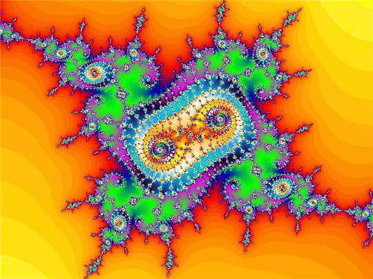 Une fractale hypnotisante