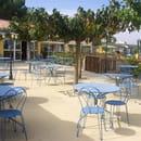 La Goutte Bleue  - Terrasse extérieure d'une capacité de 100 personnes (en saison) -