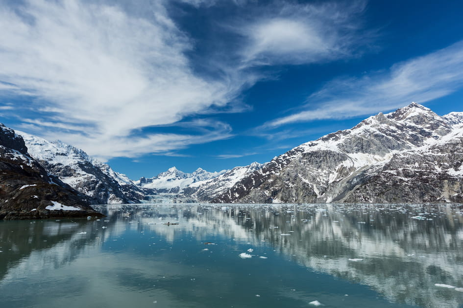 Glacier Bay en Alaska