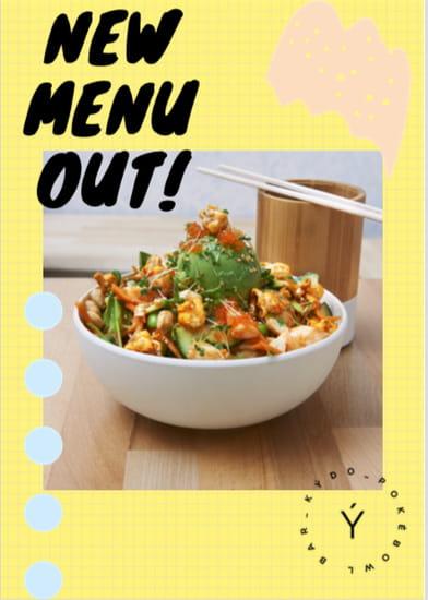Plat : Kydo Poke Bowl  - Nouveau menu disponible! -   © 3225