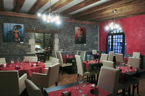 A Cantina  - Salle du restaurant traditionnel -   © Vincent Jacques