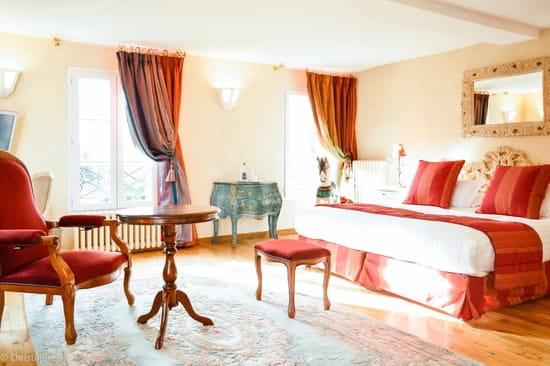Les Jardins d'Epicure Hôtel/Restaurant Gastronomique  - Hotel 19 chambres & suites / Chambre Arlequin -   © Christophe Bak