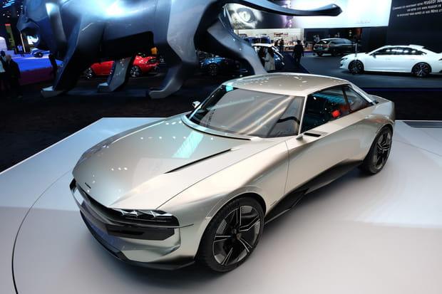 Un concept car 100% électrique