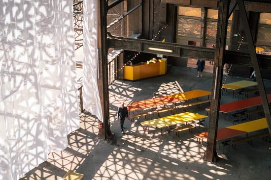 Restaurant : Le Réfectoire  - L'intérieur de la Grande Halle -   © Le Réfectoire