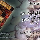La Malle aux Epices  - Carte du restaurant pour réserver (obligatoire)! -   © FDA / La Malle aux Epices