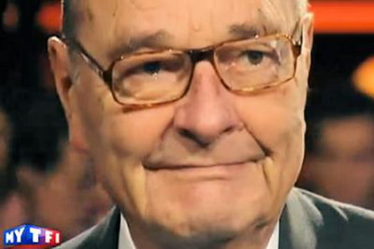 VIDÉO – Jacques Chirac très ému face à Hollande