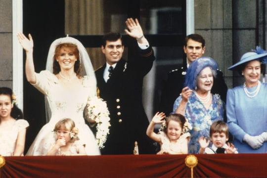Fergie et Andrew en 1986