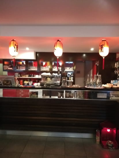 Restaurant : Kim San  - bar du restaurant kim san -   © restaurant kim san