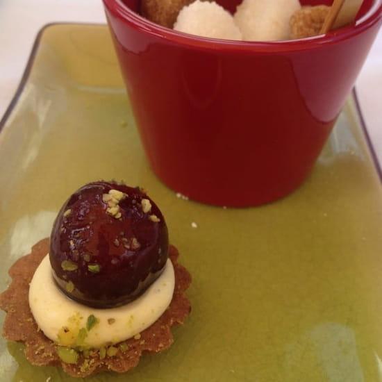 Dessert : Chilo  - Amuse bouche du café  -