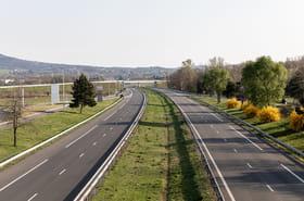 Les images des routes désertées suite au confinement