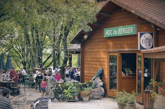 , Restaurant : Le Roc du Berger  - resaturant extérieur -   © roc du berger