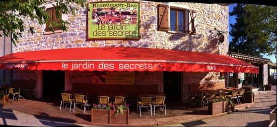 Restaurant : Le Jardin des Secrets  - Le jardin des secrets ! -