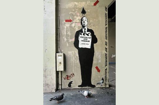 Alfred et les pigeons...