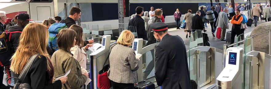 Billet SNCF: le pass sanitaire intégré au billet de train