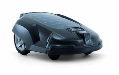 la tondeuse solaire robotis e pour tondre sans effort. Black Bedroom Furniture Sets. Home Design Ideas