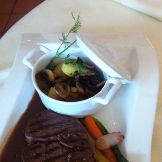 Plat : Restaurant L'Arche de Meslay