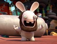 Les lapins crétins : invasion : Crétin comme un pot