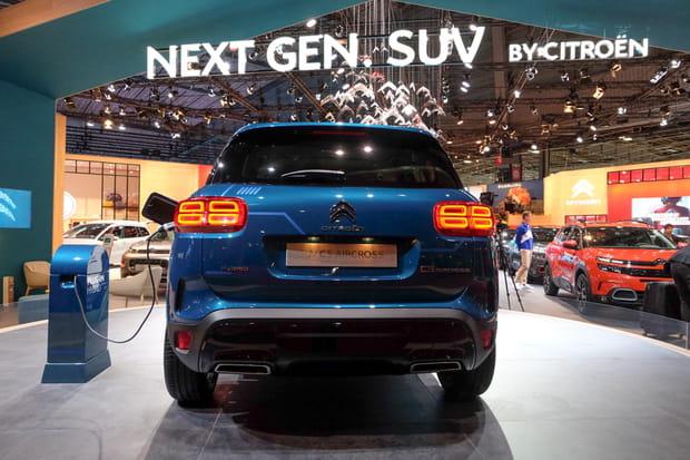 Le seul véhicule hybride plug-in de Citroën