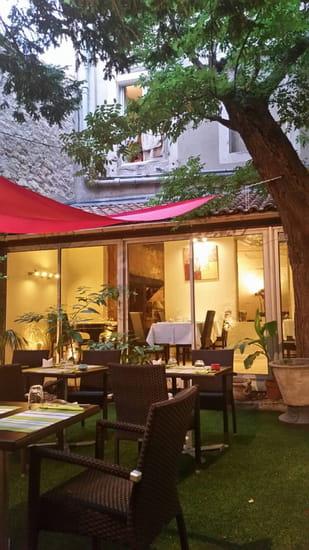 Restaurant : Le Jardin d'Hadrien  - le jardin -   © le jardin d'Hadrien